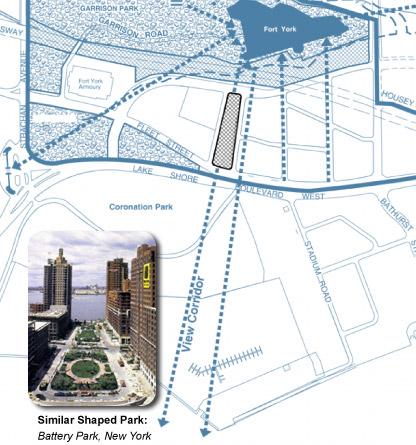 June Callwood park Diagram - City of Toronto diagram