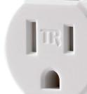 Tamper-Resistant Receptacle closeup