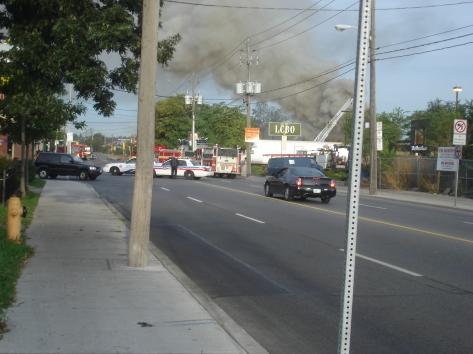 Jane and Dundas scrap fire 009