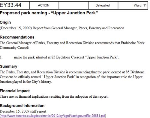 upperunction park