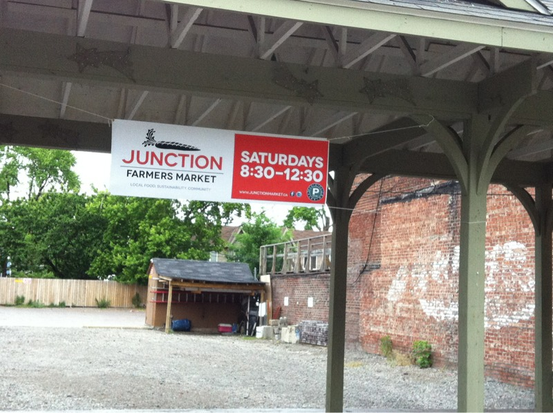 Train Station as used by the Junction Farmers Market